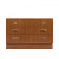 Teak vintage Gplan chest of drawers