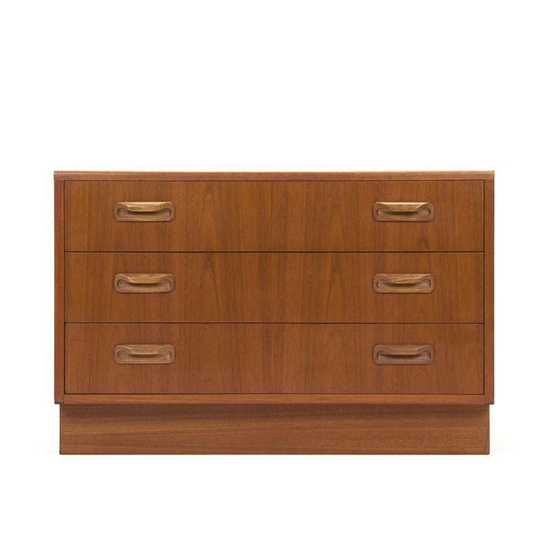 Teak vintage Gplan chest of drawers