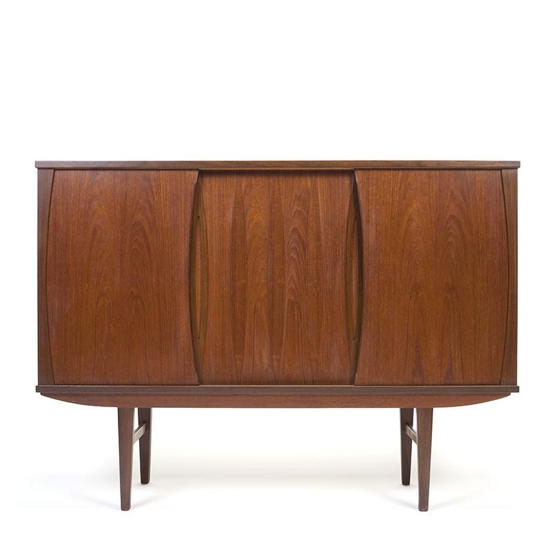 Deens teakhouten vintage design dressoir