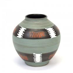 Vintage small model earthenware vase