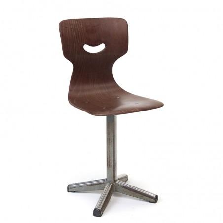 Industrial vintage children's chair from Galvanitas