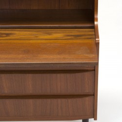 Danish vintage secretary from the sixties