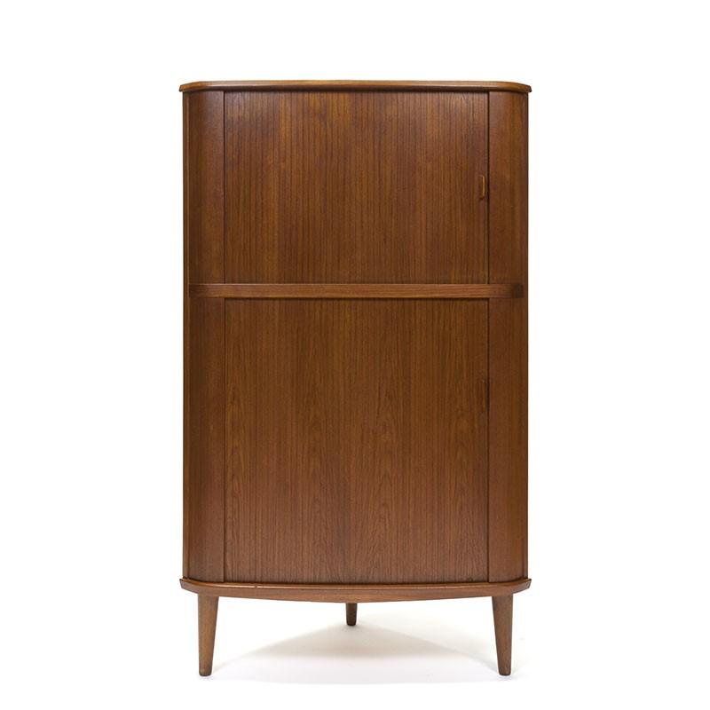 Vintage Danish corner cabinet design Skovmand & Andersen