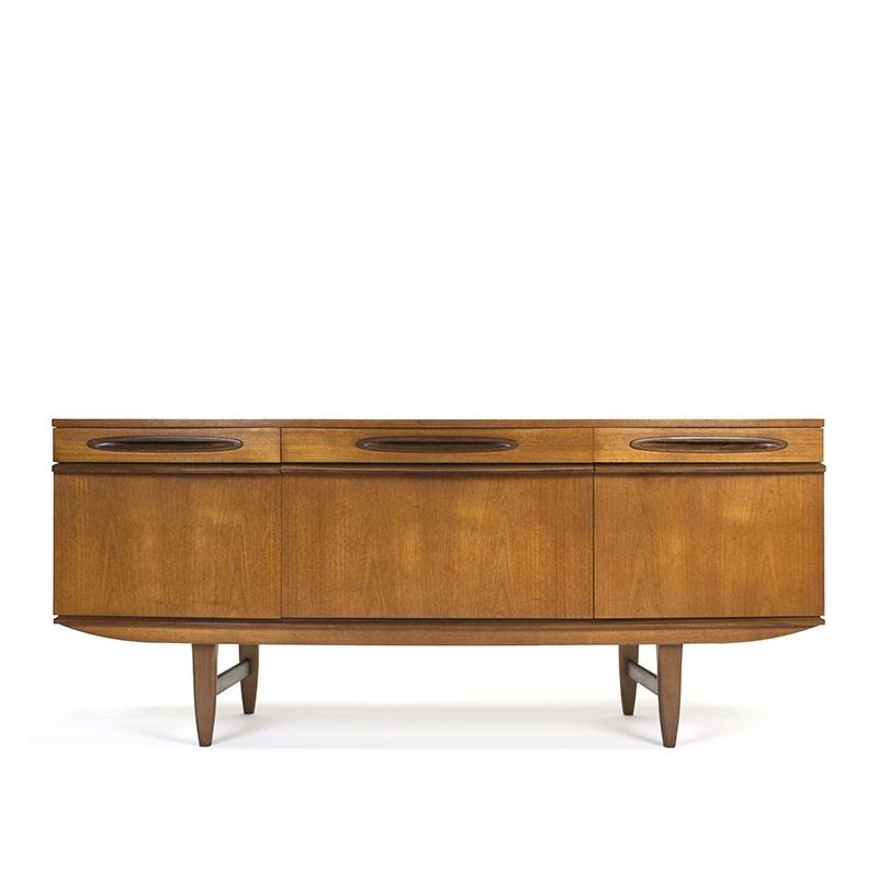 Vintage teak sideboard with 3 drawers