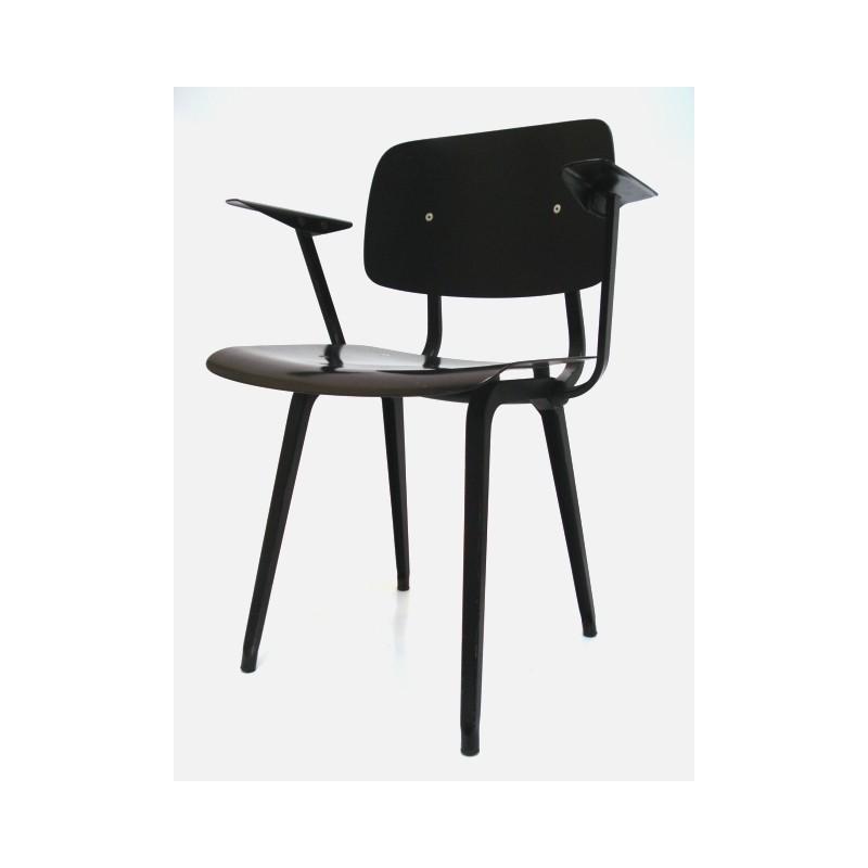 Friso Kramer first edition Revolt chair in black