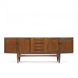 Laag vintage Gplan design dressoir ontwerp Victor Wilkins