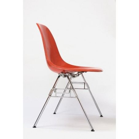 Eames DSS chair in orange