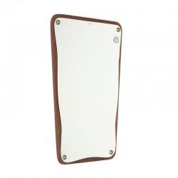 Small model vintage Danish mirror