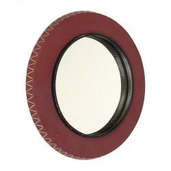 Fifties round model vintage mirror