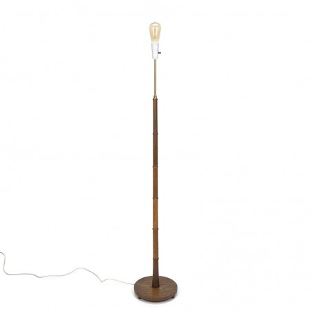 Danish floor lamp in teak vintage model