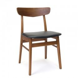 Teakhouten vintage stoel uit de Farstrup meubelfabriek