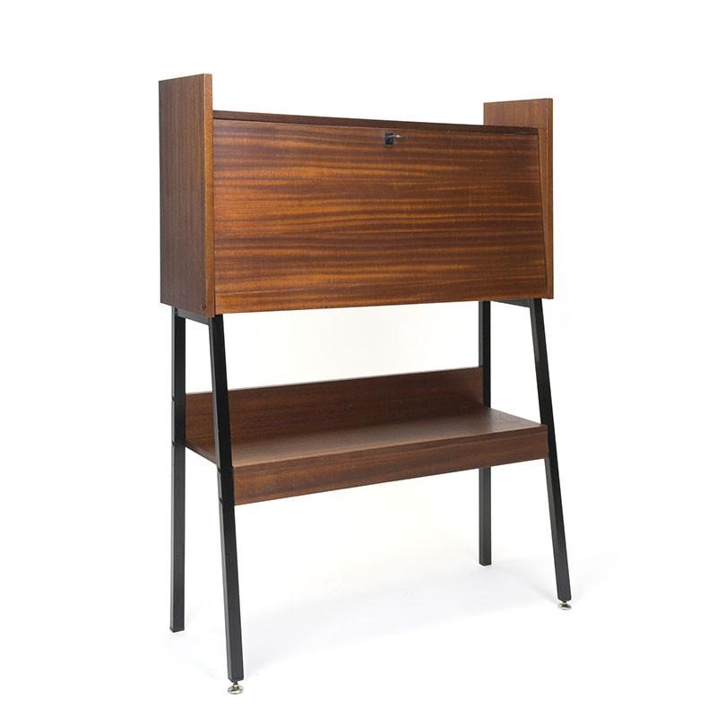Vintage secretaire van Simpla Lux in teak