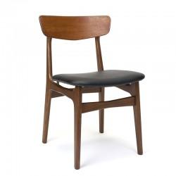 Schiønning en Elgaard vintage design stoel in teak