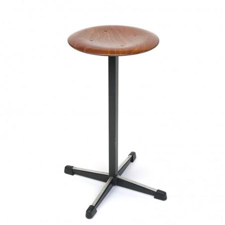 High model vintage industrial stool