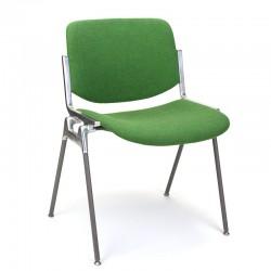 Groene vintage Castelli model DSC 106 stoel
