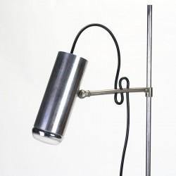 Minimalistische vintage vloerlamp jaren vijftig/ zestig