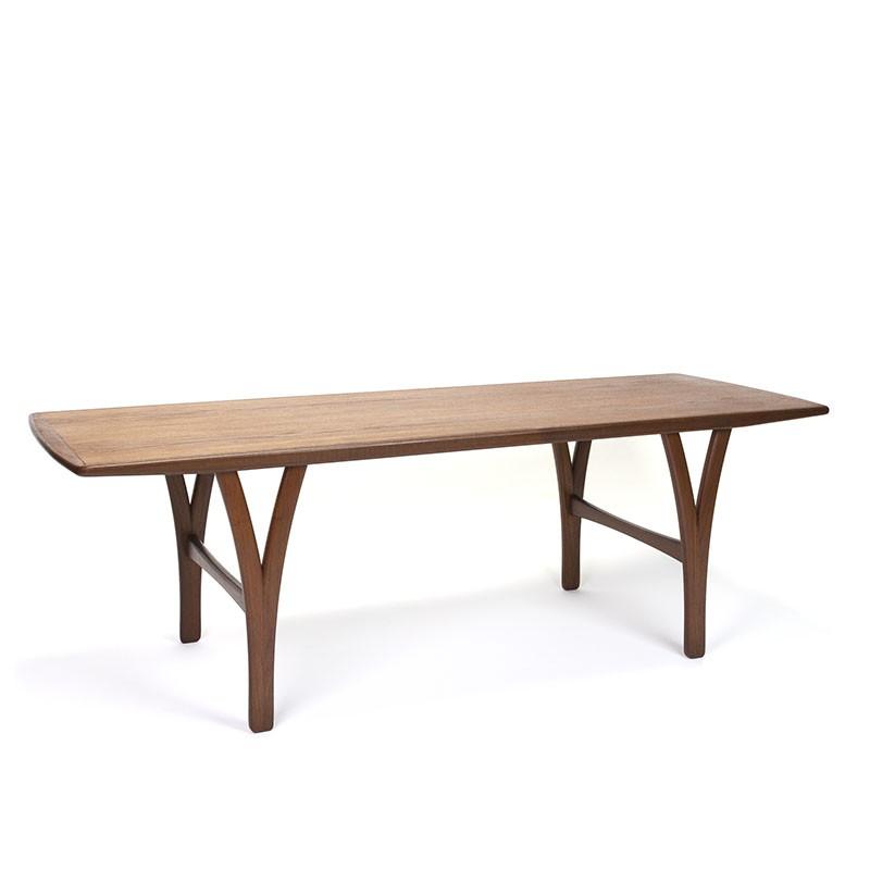 Teak Danish vintage mid century coffee table