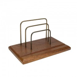 Vintage Danish letter holder from the fifties