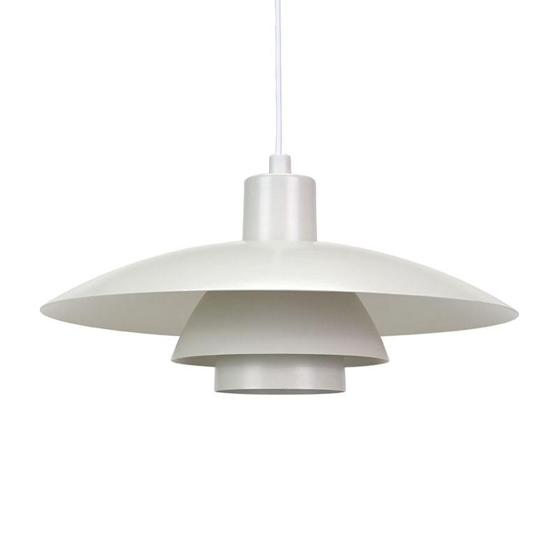 Vintage white PH 4/3 lamp design Poul Henningsen