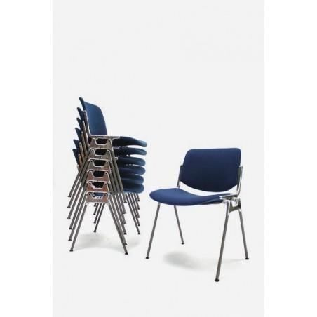 Castelli stoel blauw