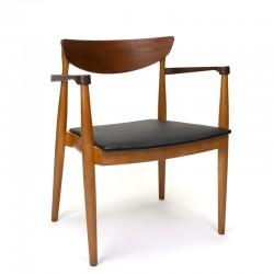 Deense vintage design armstoel uit de vijftiger jaren