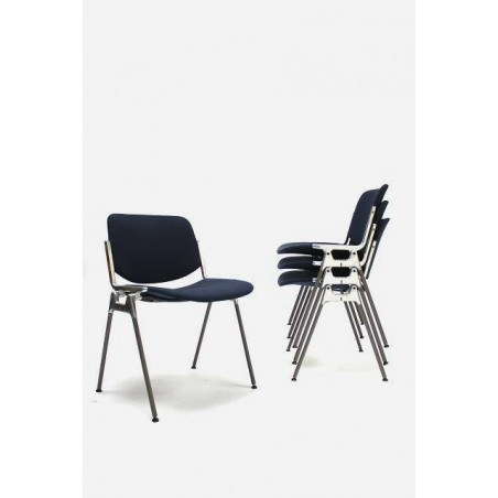 Castelli chair dark blue set of 4