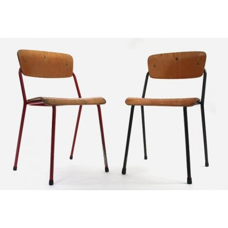 Set of 2 childs school chairs by Marko
