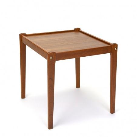 Sixties vintage teak Danish small side table