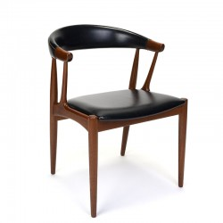 Vintage design chair by Johannes Andersen type BA113