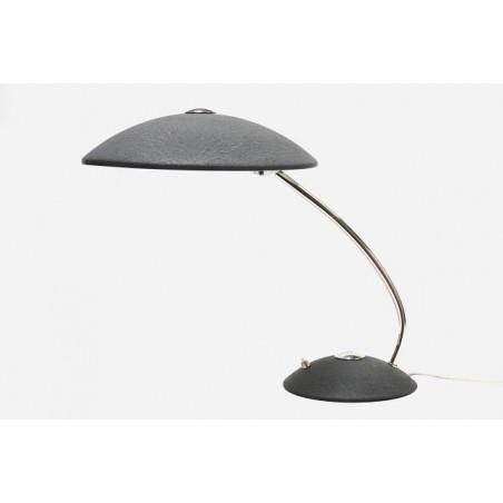 Bureaulamp met zwarte kap