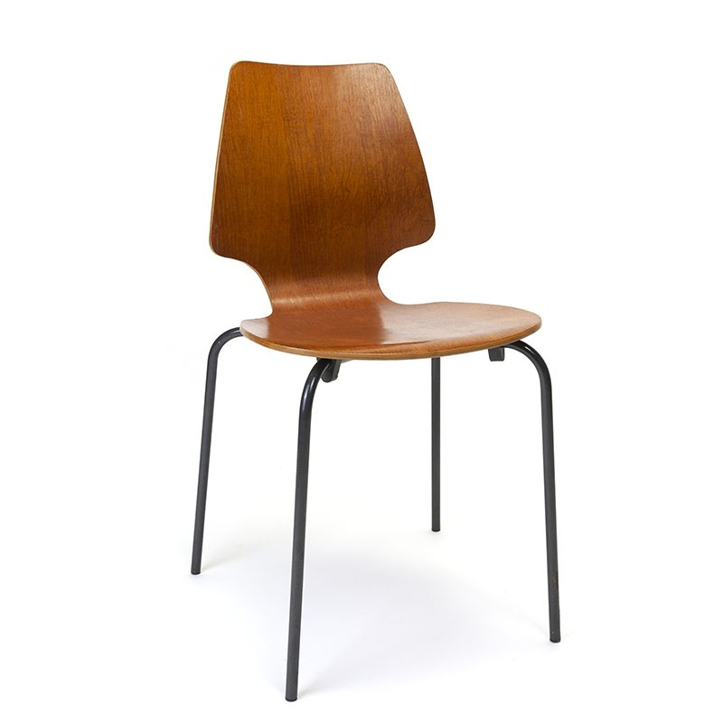 Vintage school chair from the sixties Denmark