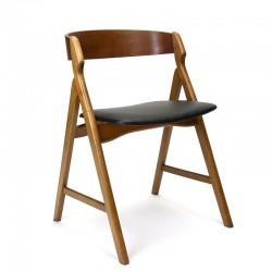 Vintage model 71 stoel ontwerp Henning Kjaernulf