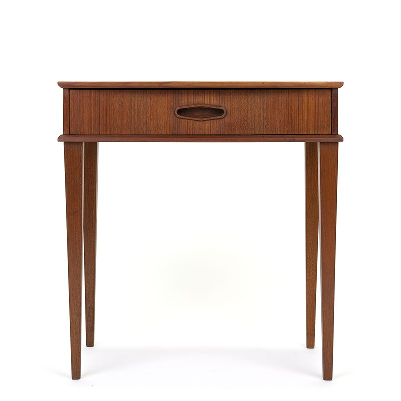 Small model Danish vintage cabinet with drawer
