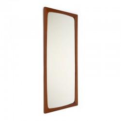 Teak Danish vintage 1960s mirror