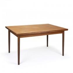 Teak Danish extendable vintage dining table