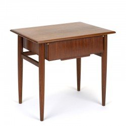 Side table small vintage Danish model with drawer