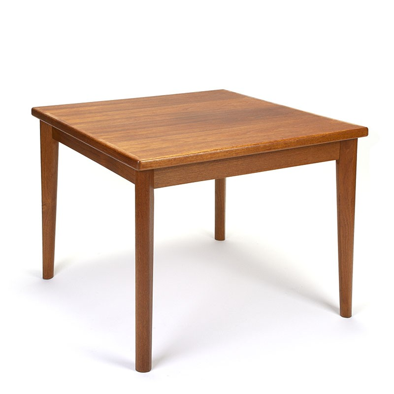 Danish square small vintage dining table from BRDR. Furbo