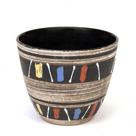 Sixties vintage flower pot