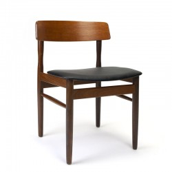 Danish dining table chair vintage sixties