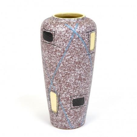 Earthenware vintage fifties / sixties Foreign vase