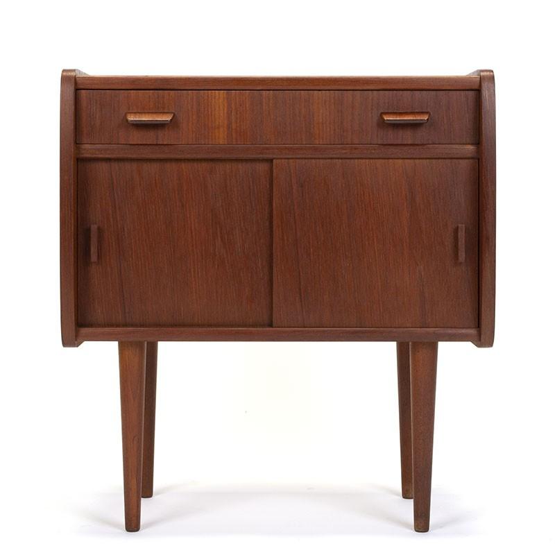 Small model vintage Danish teak cabinet