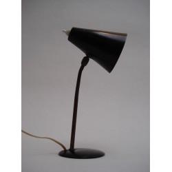 Table lamp 1950s black/brass