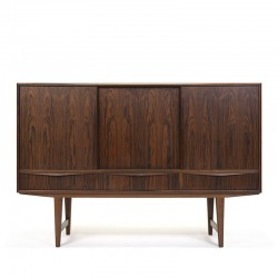 Rosewood wooden vintage sideboard design E.W. Bach