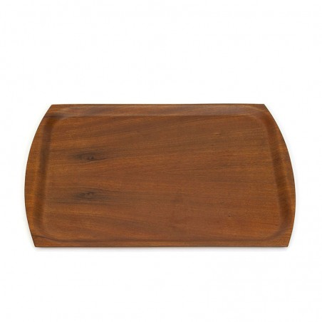 Danish vintage teak tray from the sixties