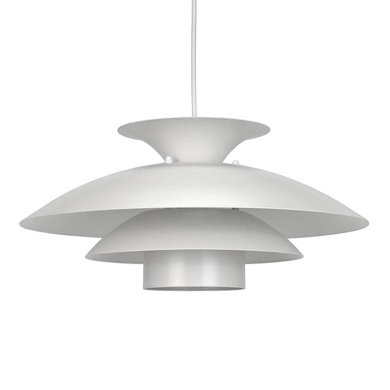 Scandinavische witte vintage hanglamp