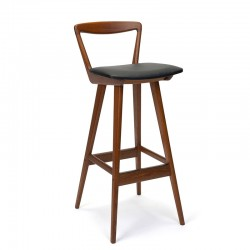 Danish vintage design bar stool design H. Rosengren Hansen