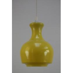 Glazen gele lamp