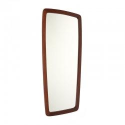 Organically designed Danish vintage mirror