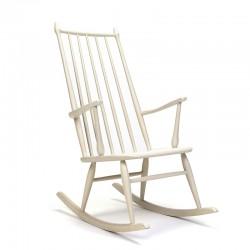 Mid-Century vintage schommelstoel