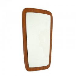 Vintage teak mirror in the mid-1960s